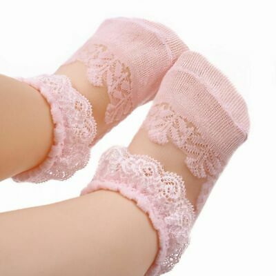 £5.55 • Buy Summer New Babies Socks Cute Lace Flower Floral Newborn Toddler Baby Girl Shoes