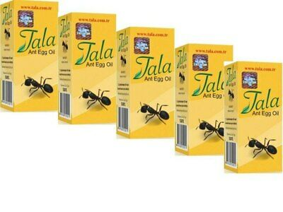£17.71 • Buy 5 Bottle Tala Ant Egg Oil 20 Ml ✔ FREE DELIVERY ✔EXPRESS DISPATCH ✔FRESH STOCK