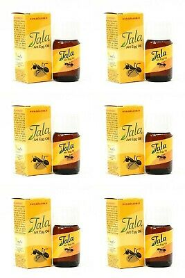 £21.75 • Buy 6 Bottle Tala Ant Egg Oil 20 Ml ✔ FREE DELIVERY ✔EXPRESS DISPATCH ✔FRESH STOCK