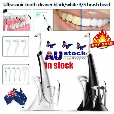 AU6.96 • Buy 5 In 1 Tooth Polishing Cleaner Ultrasonic LED Electric Oral Teeth Cleaning KitXD