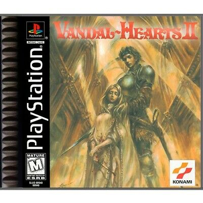 £84.99 • Buy PS1  Sony Playstation 1 Game Vandal Hearts II Boxed MINT CONDITION