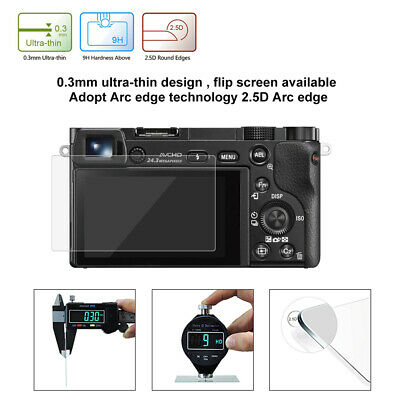 $ CDN3.58 • Buy HD Tempered Glass LCD Screen Protector Film For Sony A6000/A6500 SLR Camera 27E