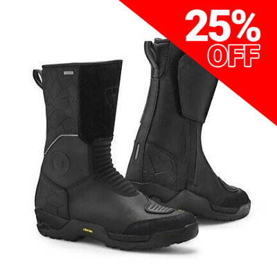 £104.99 • Buy Rev'It! Trail H2O Waterproof Motorcycle Boots **SAVE 25%**