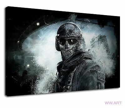 £38.99 • Buy Ghost Army From Call Of Duty Ghosts Fantasy Art Canvas Wall Art Picture Print