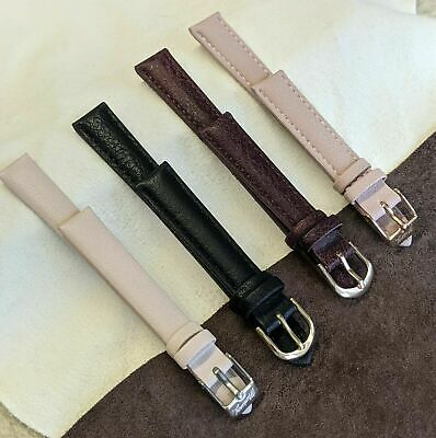 £5.99 • Buy  Mantaray  Padded Faux Leather Replacement Watch /straps  /10/12mm /14mm/18mm