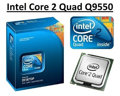 $ CDN51.08 • Buy Intel Core 2 Quad Q9550 SLB8V 2.83GHz 12M Cache, 4 Core, Socket LGA775, 95W CPU