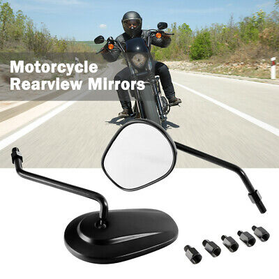 $32.99 • Buy Motorcycle Oval Rearview Mirrors For Suzuki Boulevard C50 C90 C109R M109R M50