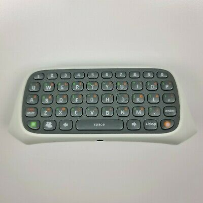 AU25 • Buy Xbox 360 Chatpad - Official Microsoft Controller Attachment Keyboard White