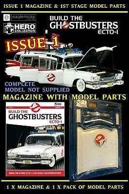 £9.99 • Buy Eaglemoss Build The Ghostbusters Ecto 1: Magazine Issue 1 With 1st Model Stage