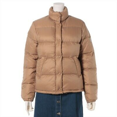 AU541.59 • Buy Moncler Nylon Down Jacket 0 Womens Beige