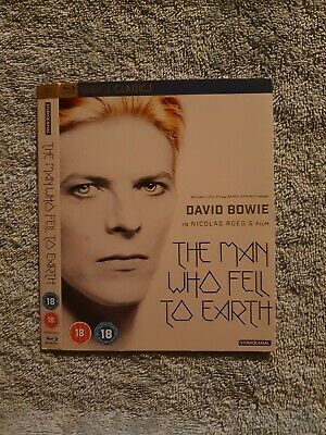 * SLIPCOVER ONLY * Bowie - The Man Who Fell To Earth - Collectors Blu Ray Cover • 6.50£