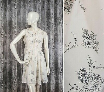 £25 • Buy By Ti Mo Oslo-Norway Womens Dress Silk/Viscose Floral Size M