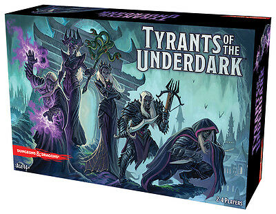 AU79.99 • Buy DUNGEONS & DRAGONS: Tyrants Of The Underdark - Board Game (Gale Force Nine) #NEW