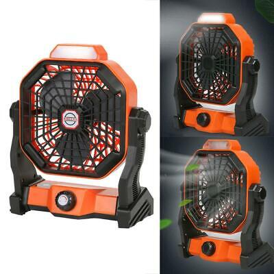AU43.16 • Buy 2021 Mini USB Fan With LED Light Car Home Outdoor Camping Desk Personal Fan NEW