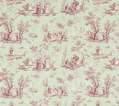£79.99 • Buy SANDERSON CURTAIN FABRIC  Josette  3 METRES ROSE AND SAGE FABIENNE COLL