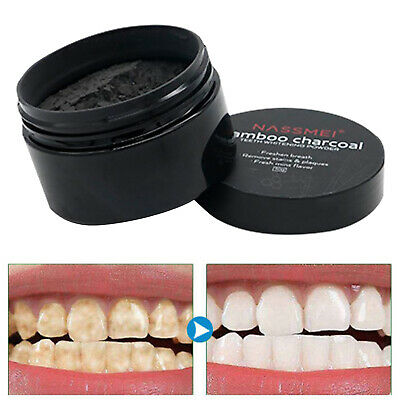 AU12.86 • Buy Teeth Whitening Bamboo Charcoal Natural - Bamboo Charcoal Teeth Whitening Kit -
