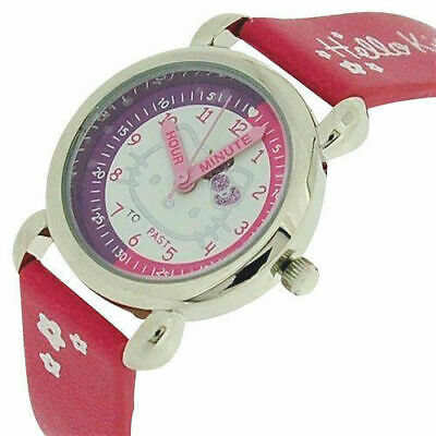 £5.99 • Buy Hello Kitty Pink Time Teacher Watch- Visual Resource To Learn To Tell The Time