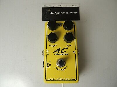 Xotic AC Booster Overdrive/Boost Effects Pedal Free USA Shipping • 72.83£