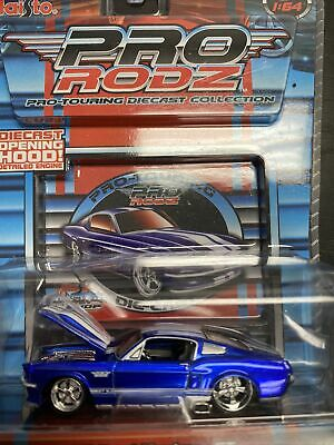 $11.50 • Buy 1967 Ford Mustang GT Maisto Pro Rodz Pro Touring Diecast Collection Amazing Blue