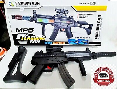 £34.52 • Buy Machine Gun Military Soldier MP5 TOY With Sound And Light For Kids Gift Infrared
