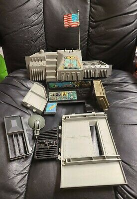 $ CDN50.21 • Buy 1983 GI Joe Command Center Headquarters Playset Parts Lot Vintage Arah