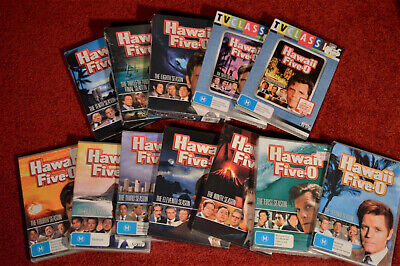 AU229.99 • Buy HAWAII FIVE-0 COMPLETE 72 Disc SERIES DVD Jack Lord Region 4 - NEW & SEALED !!