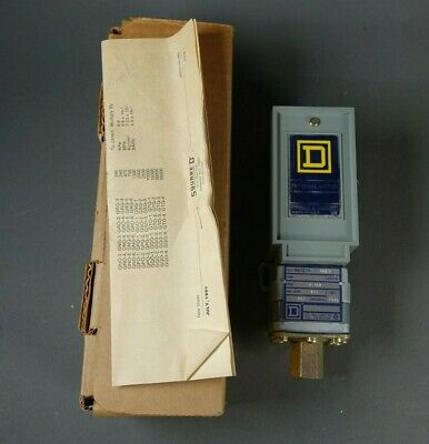AU58.98 • Buy Square D 9012 GNG-5 3-150PSI Adjustable Differential Pressure Switch Set 75, NOS