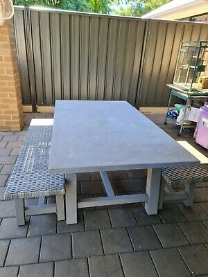 AU550 • Buy Concrete Outdoor Setting Table With Seats.