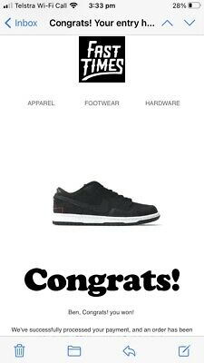 AU650 • Buy Nike SB Wasted Youth Dunk Low US9 .5