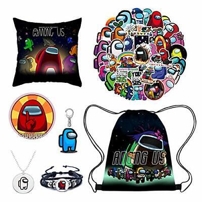 $ CDN56.77 • Buy Among-us Drawstring Backpack, Pillow Case, Stickers, Keychain, Brooch,