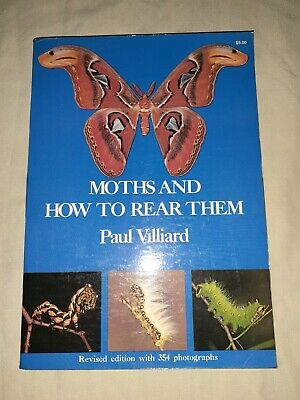 AU23.60 • Buy Moths And How To Rear Them By Paul Villiard (1975, Dover) Trade Paperback