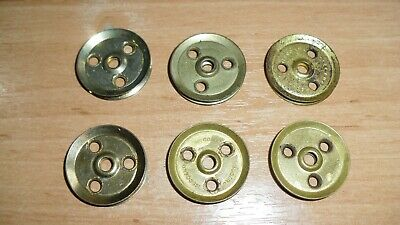 £1.50 • Buy Meccano Six Pulley Without Boss 1 Inch 25mm Part 22 Used