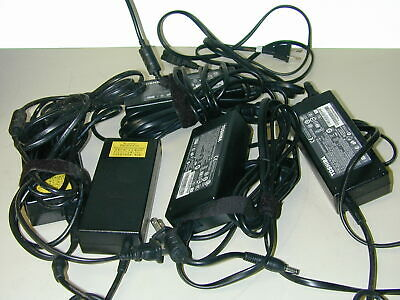 $ CDN70.13 • Buy Lot Of (5) Toshiba 120W Laptop PA-1121-81 19V 6.32A AC Adapters With Cables
