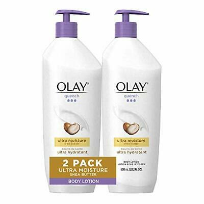AU30.97 • Buy Quench Body Lotion Ultra Moisture With  Butter And And B3, 20.2 Oz (Pack Of 2)