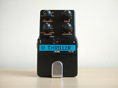 Pearl Thriller TH-20 Vintage Filter Parked Wah Guitar Pedal, Made In Japan • 129£