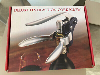 £15 • Buy Deluxe Lever-action Corkscrew New Boxed