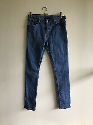 AU60 • Buy Ksubi Van Winkle Exit Dust Men's Blue Denim Jeans Size 32 Button Fly Skinny