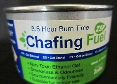 £5.39 • Buy 1 X Ethanol Chafing Dish Fuel Chafer Gel 3.5hr Can Catering BBQ Buffet Camping