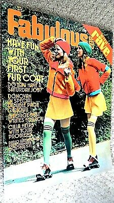 £17.49 • Buy Fabulous 208 With Rave Magazine: 9th October 1971 (fab 208) Donovan