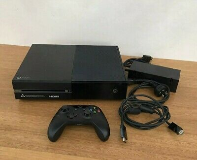 AU249.99 • Buy Xbox One Console 500GB Black W Controller & Cables Xbox 1