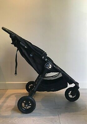 View Details Baby Jogger City Mini GT Buggy/Pushchair - Black - Very Good Condition • 102.00£