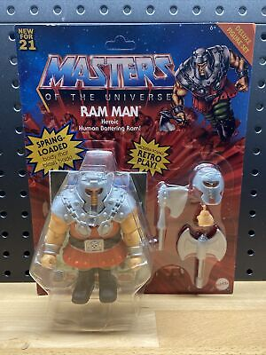 $44.99 • Buy Masters Of The Universe Origins MOTU Ram Man Deluxe NEW/Sealed/Unpunched