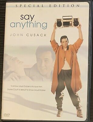 AU9.74 • Buy Say Anything (DVD, 2002, Special Edition) John Cusack