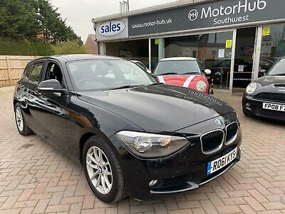 2011 BMW 118d NEW SHAPE - Px To Clear In Black - Drives Great - Free Delivery - • 3,695£