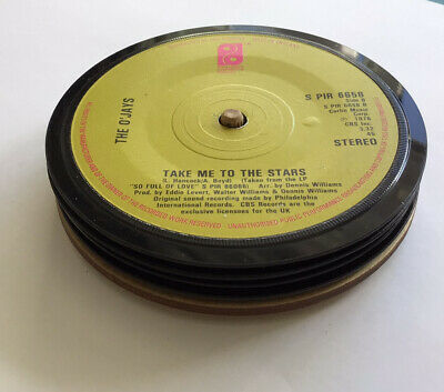 £9.99 • Buy 4 Quality, Hand Crafted, Genuine 1970s Retro Vinyl Record Coasters, With Stand