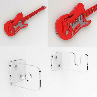 $ CDN10.46 • Buy 2x Guitar Wall Mount Hanger Holder Stand For Acoustic Electric Bass Guitars