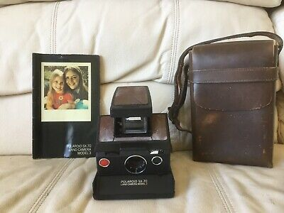 AU141.84 • Buy Polaroid SX-70 Model 3 Instant Camera-Tested&Working-Great-Ships Same Day