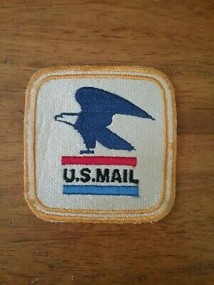 $8 • Buy NEW! Vintage USPS Post Office Mail Carrier Sew-on Eagle Patch