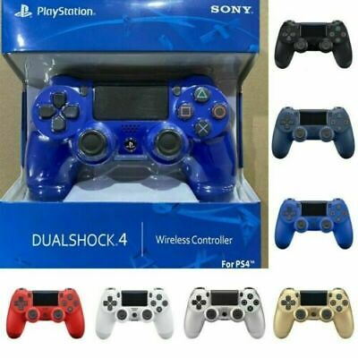 PS4 Controller PlayStation Games Console DUALSHOCK 4 V2 Wireless Official Colour • 17.88£