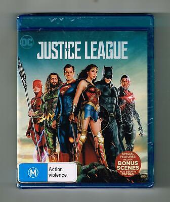 AU14.95 • Buy Justice League Blu-ray DC - Brand New & Sealed
